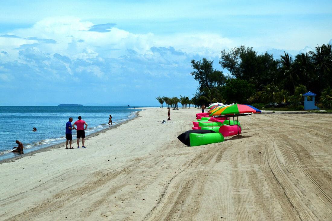 Пляж Rekreasi Kastam