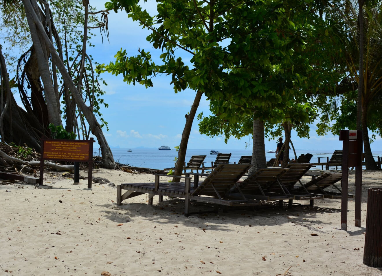 Есть возможность отдохнуть на пляже
