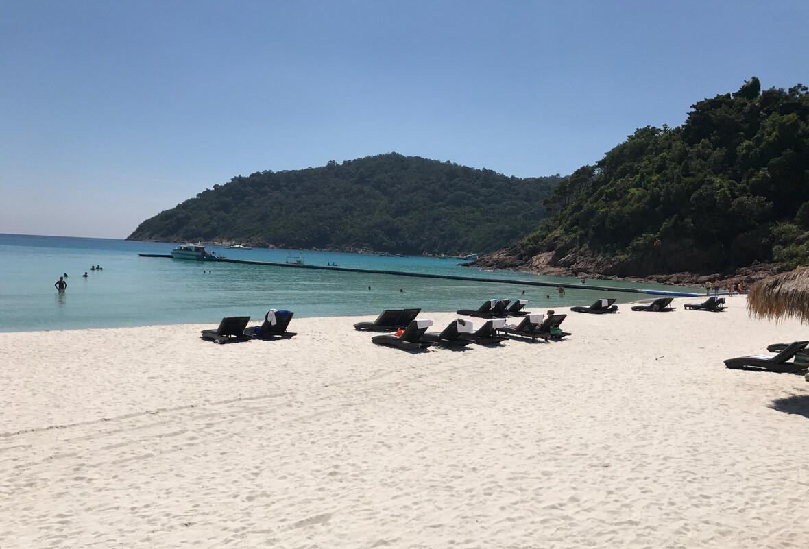 Пляж Таарас, о. Реданг