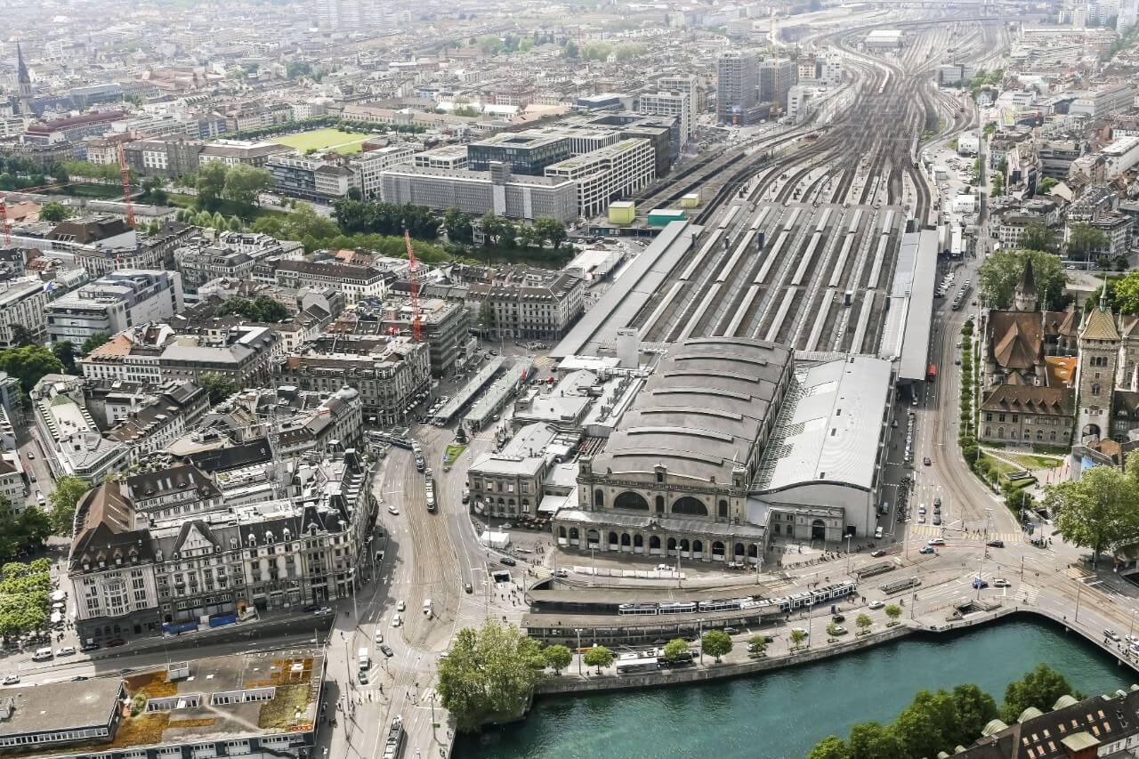 Центральный железнодорожный вокзал Hauptbahnhof