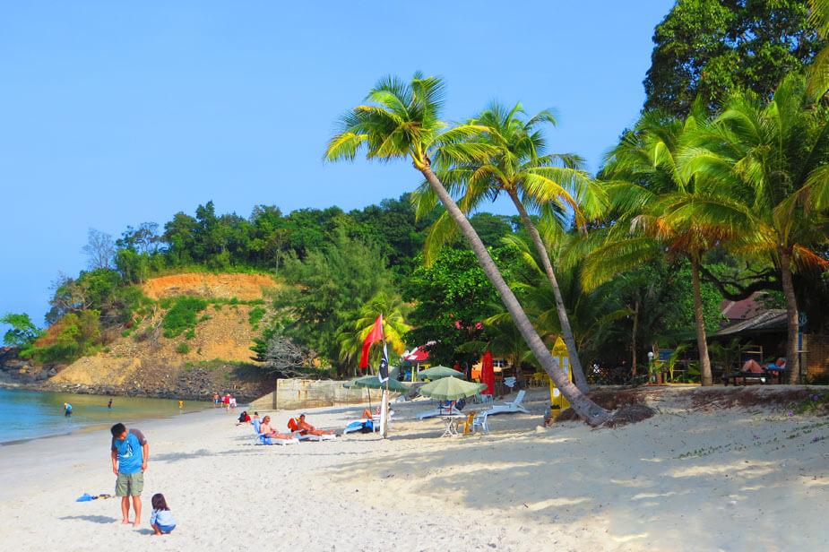 Пляж Тенгах