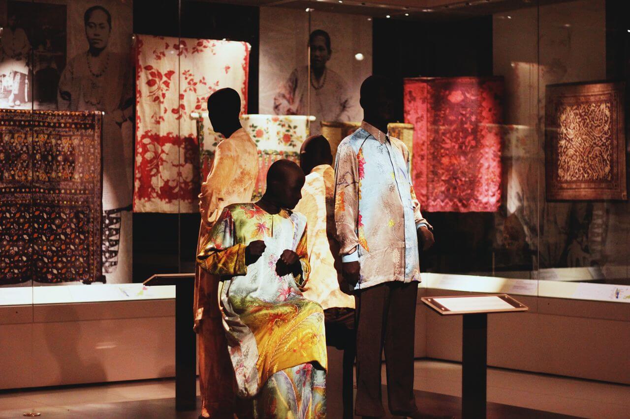 В национальном музее текстиля в Куала-Лумпура