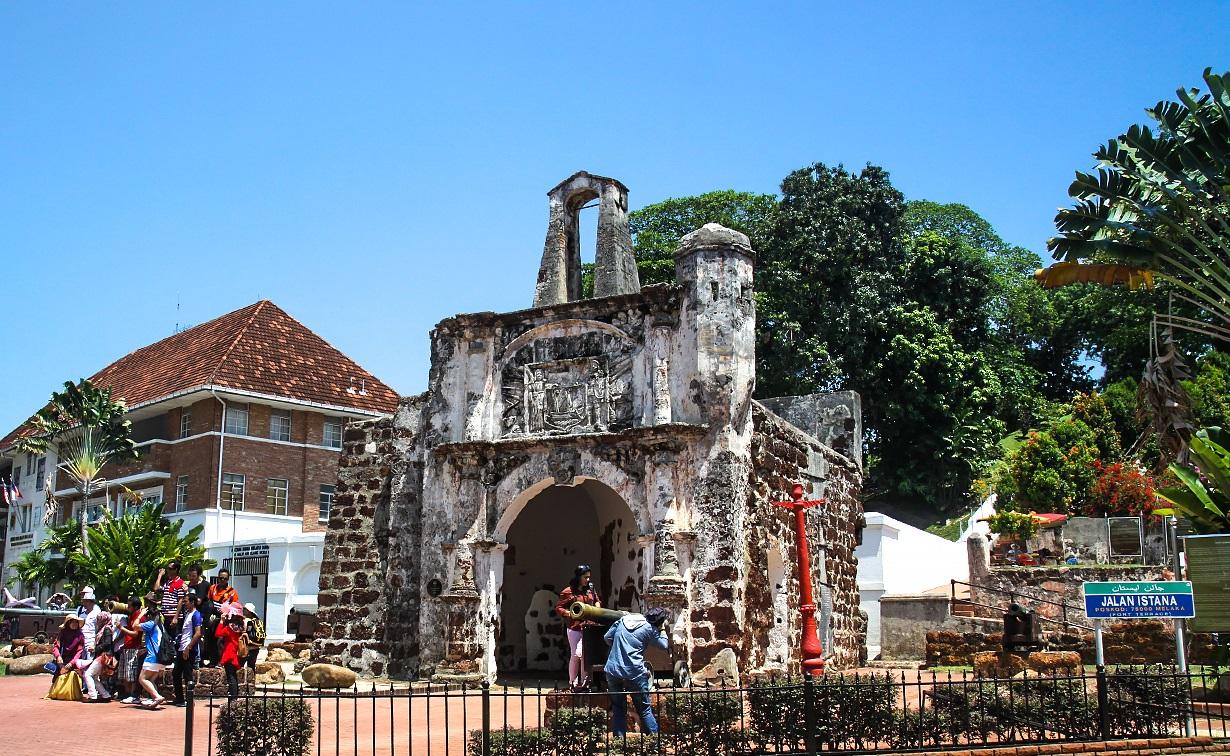 Крепость А'Фамоса в Малакке