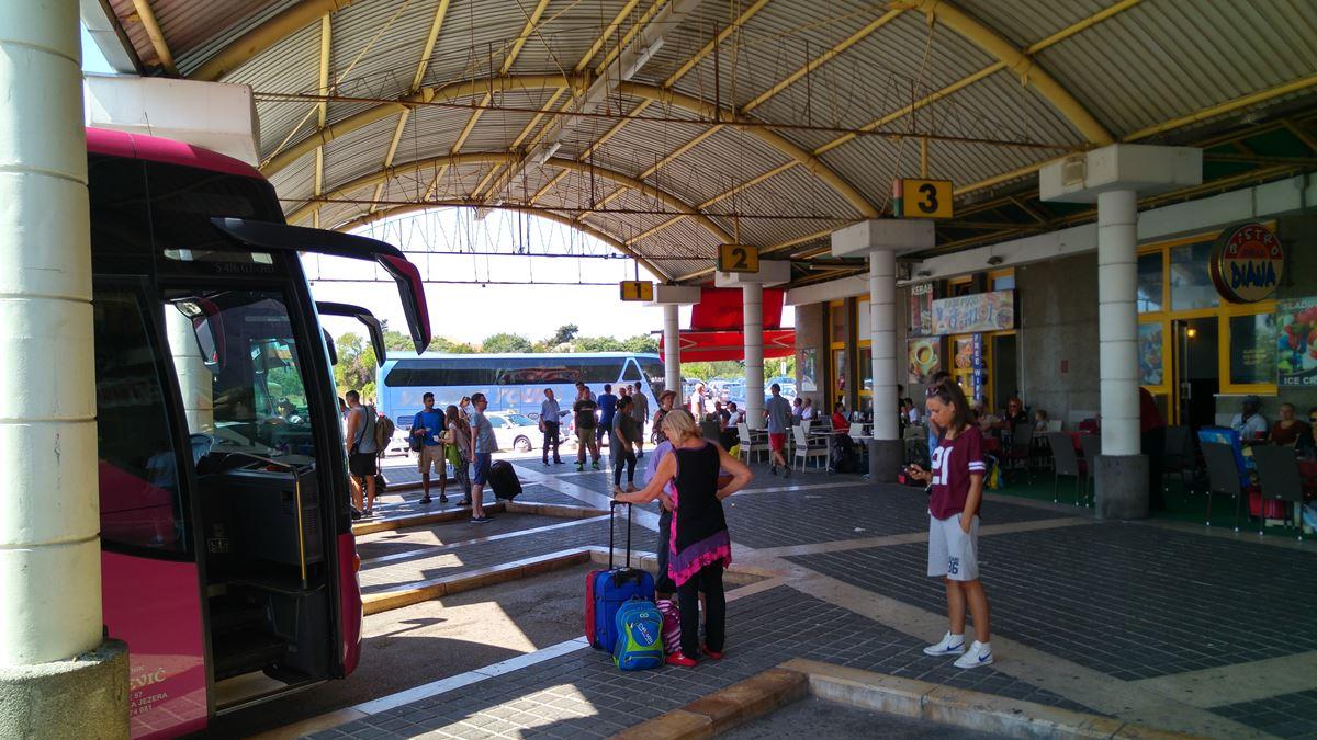 Автобусный терминал Задара