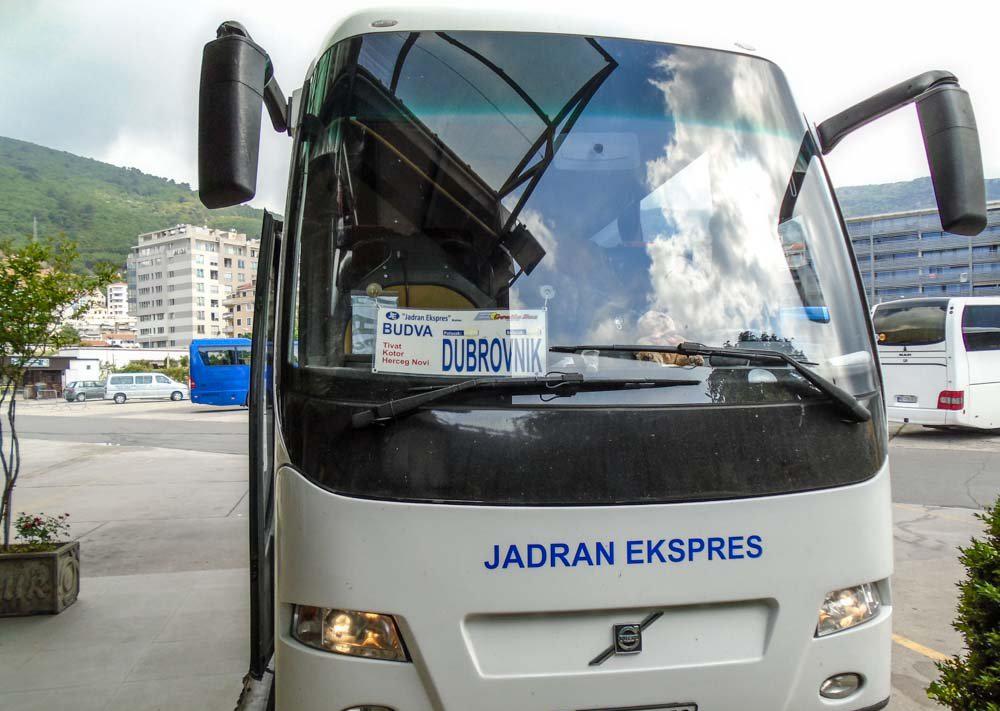 Автобус в Дубровник