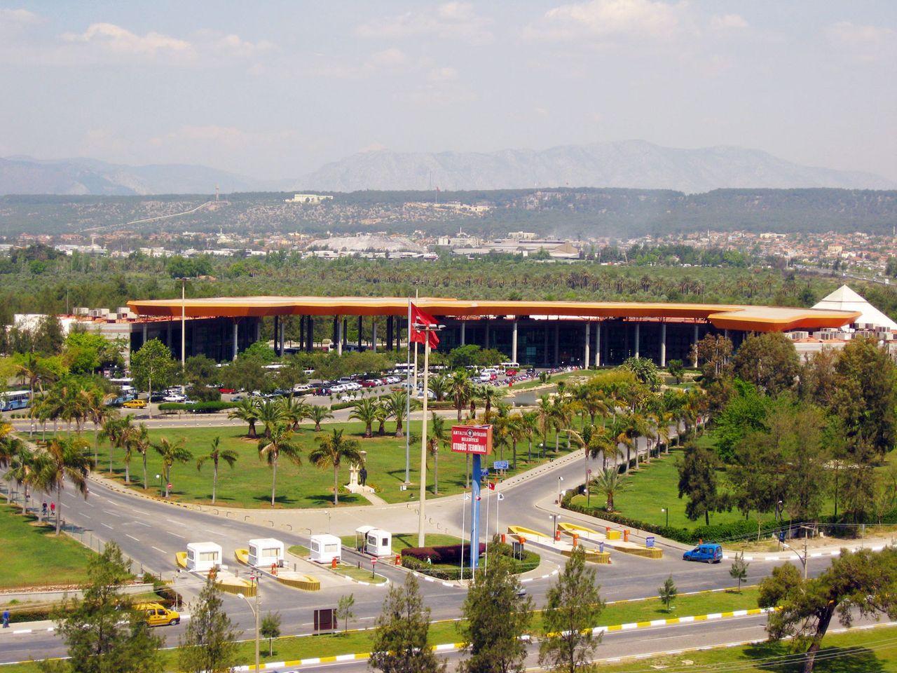Главный автовокзал Анталии - Otogar