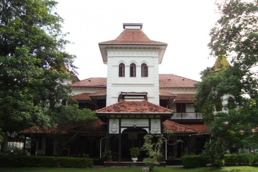 Административный центр госуниверситета в College House