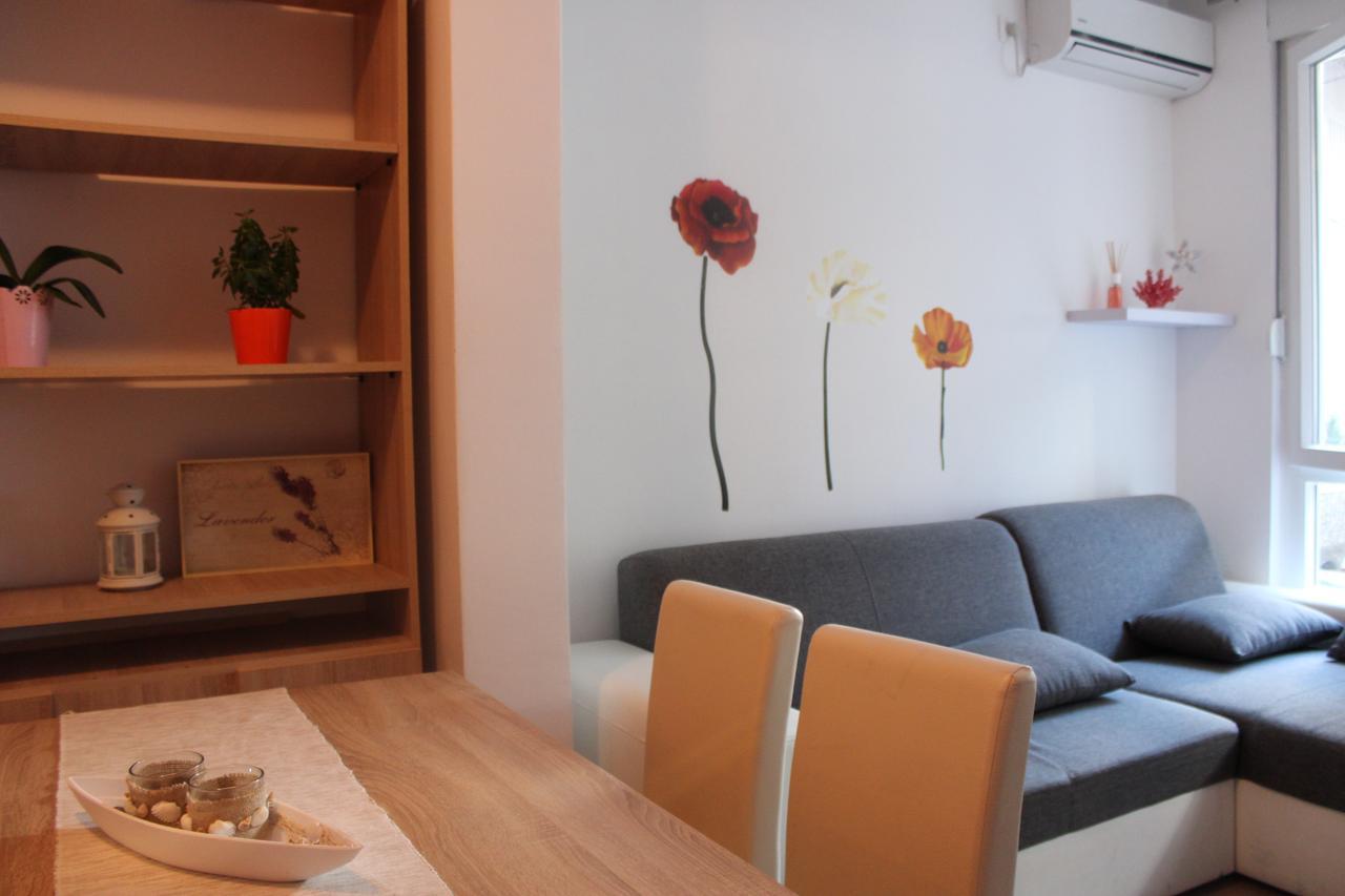 Кухня-гостиная в апартаментах Adriana