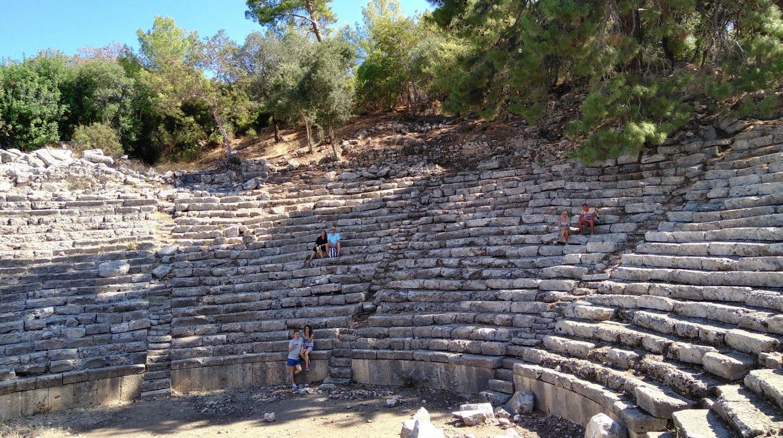 Амфитеатр старого города