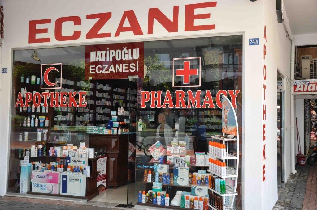 Аптека в Турции