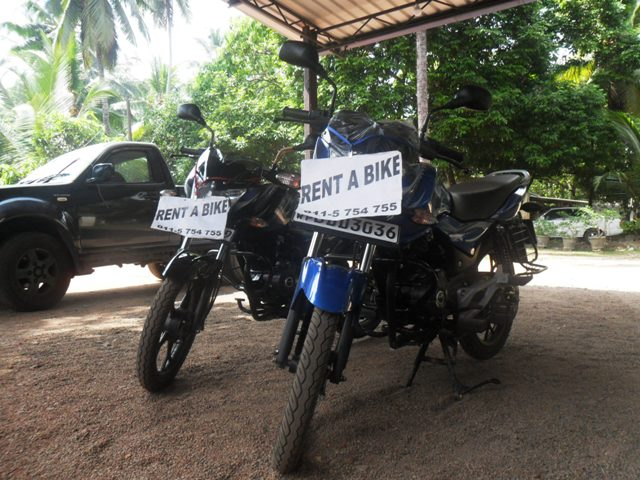 Аренда байка на Шри-Ланке