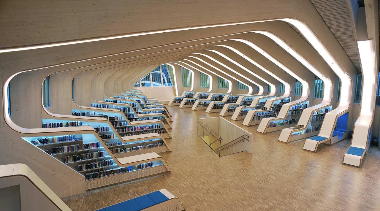 Библиотека и культурный центр Веннеслы
