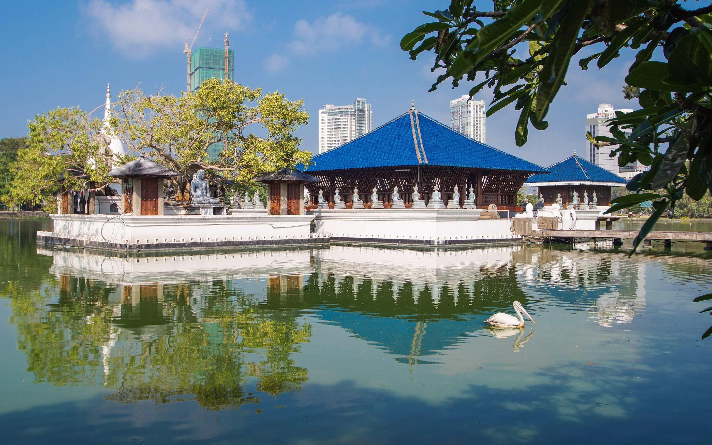 Буддийский храм «Гангарамая»