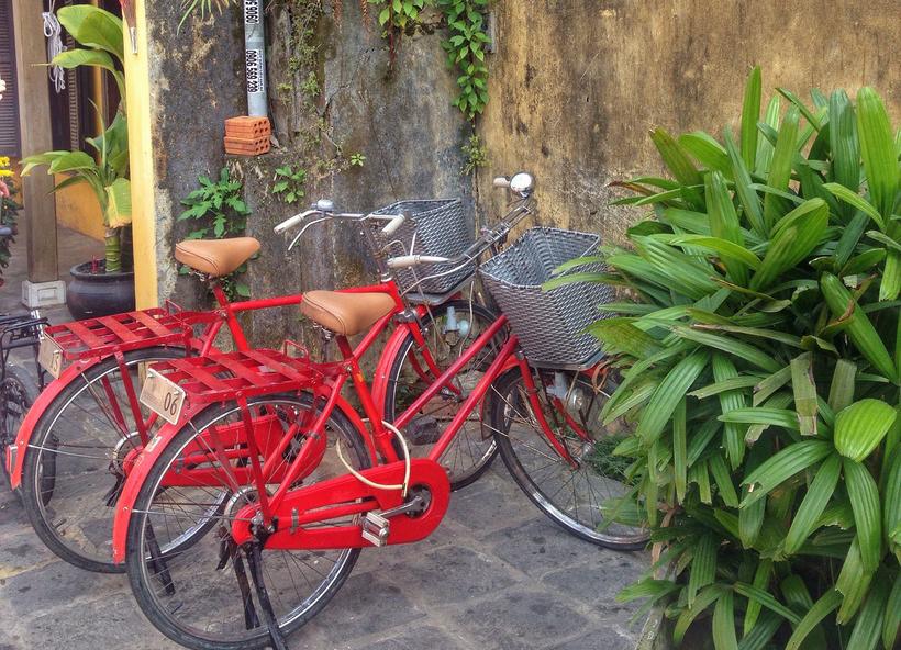 Велосипед в аренду в Хойане