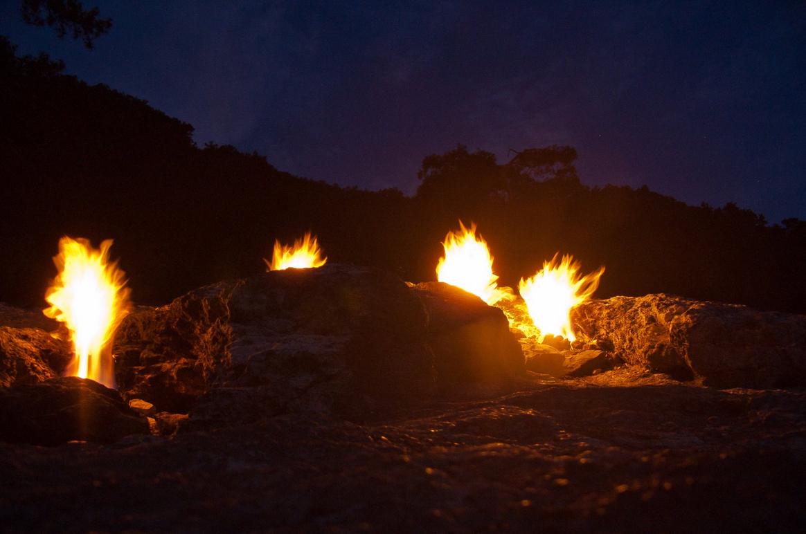 Вечером на горе Янарташ
