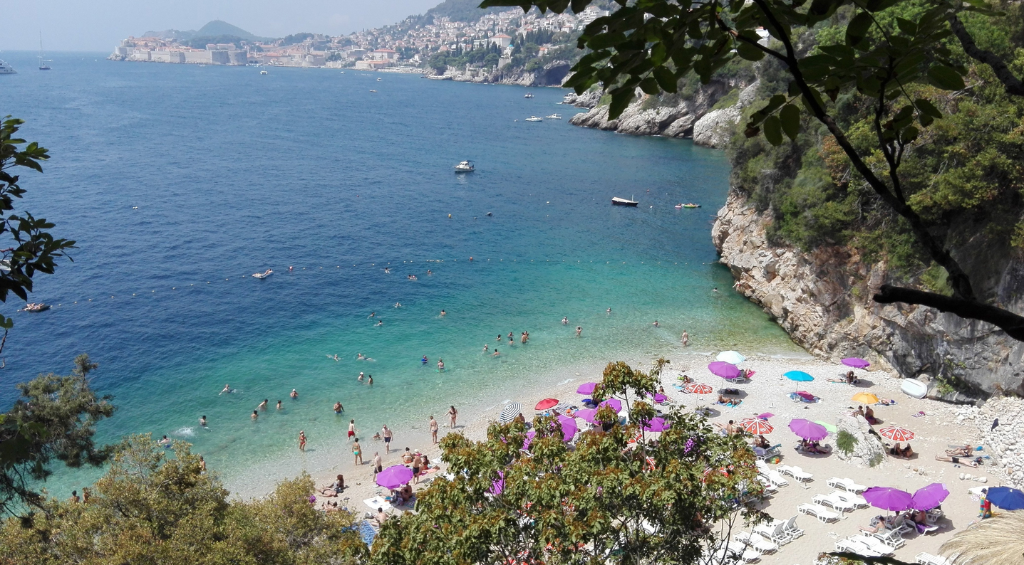 Вид на пляж Свети Яков