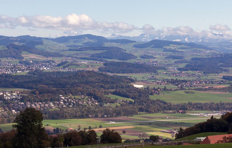 Вид с горы Гуртен