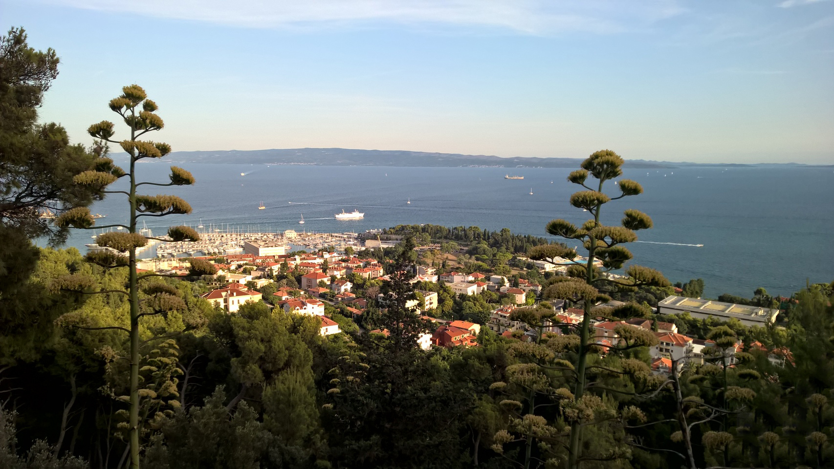 Вид с горы парка Марьян