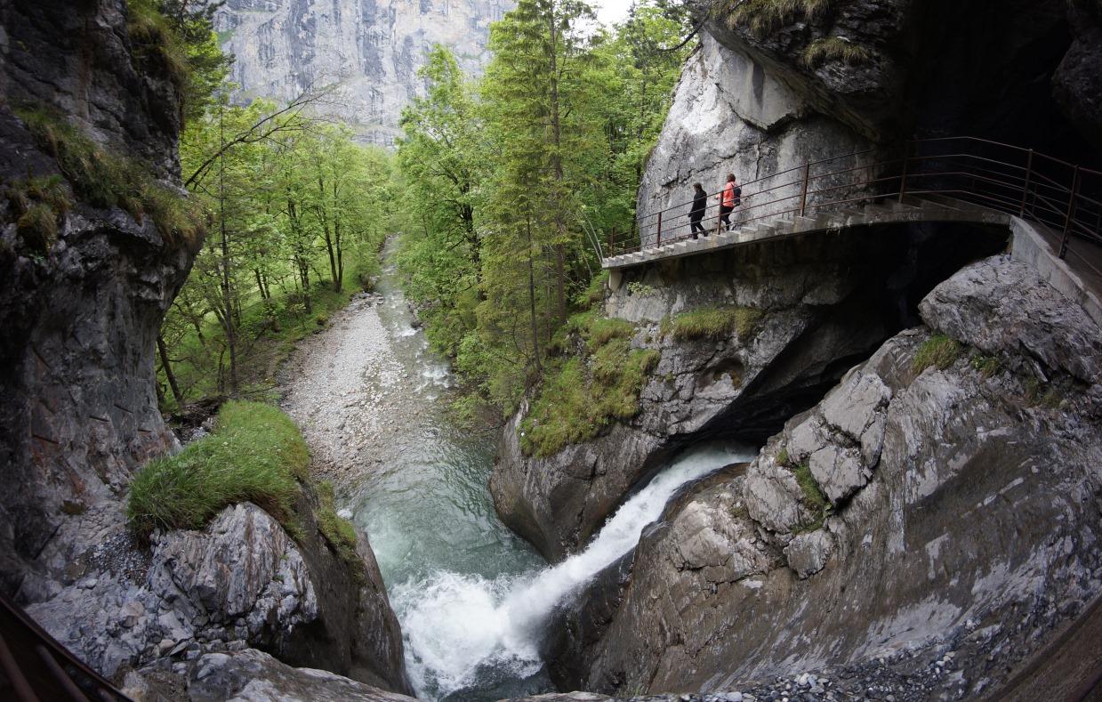 Водопад Труммельбах