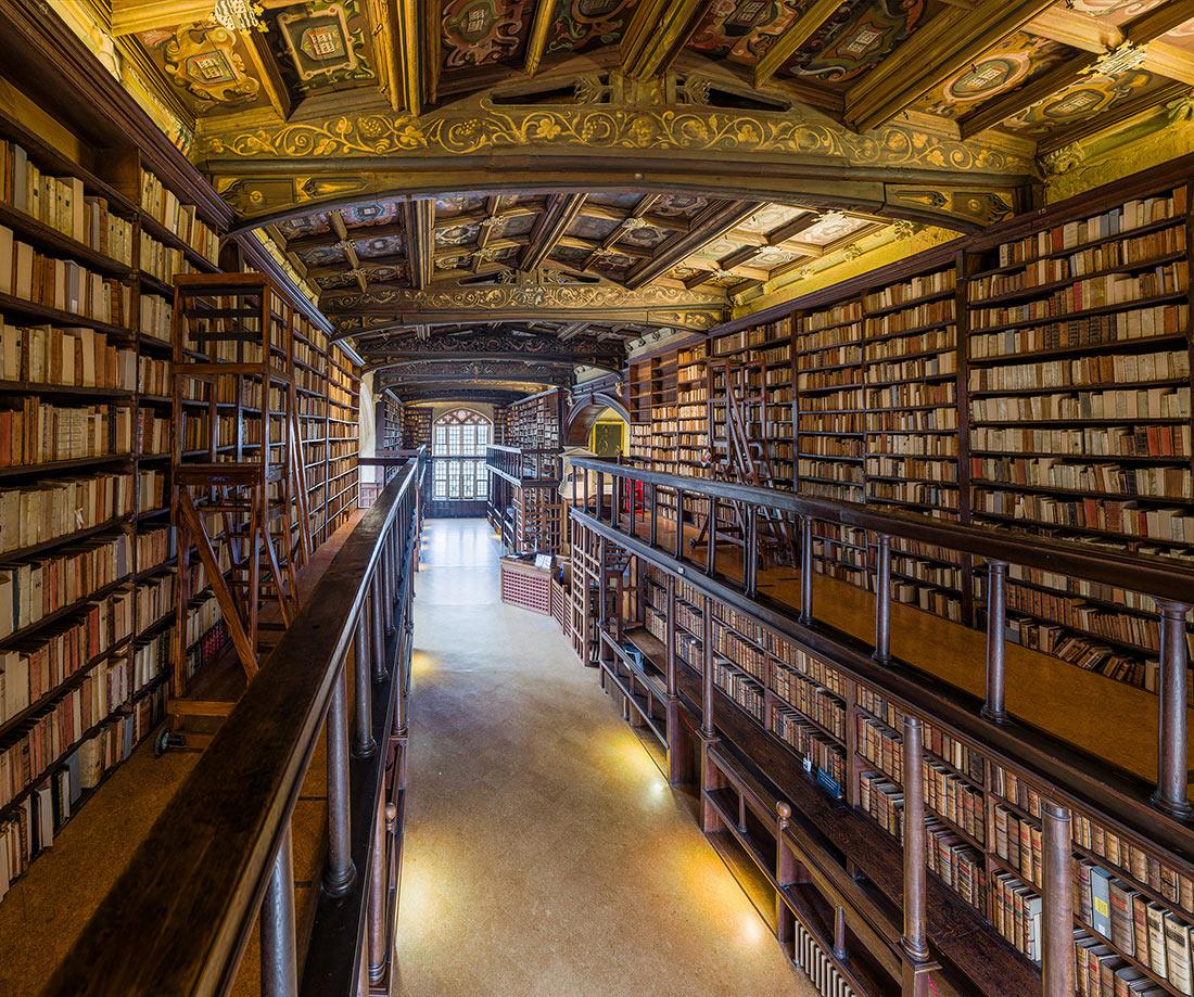 В Бодлианской библиотеке в Оксфорде