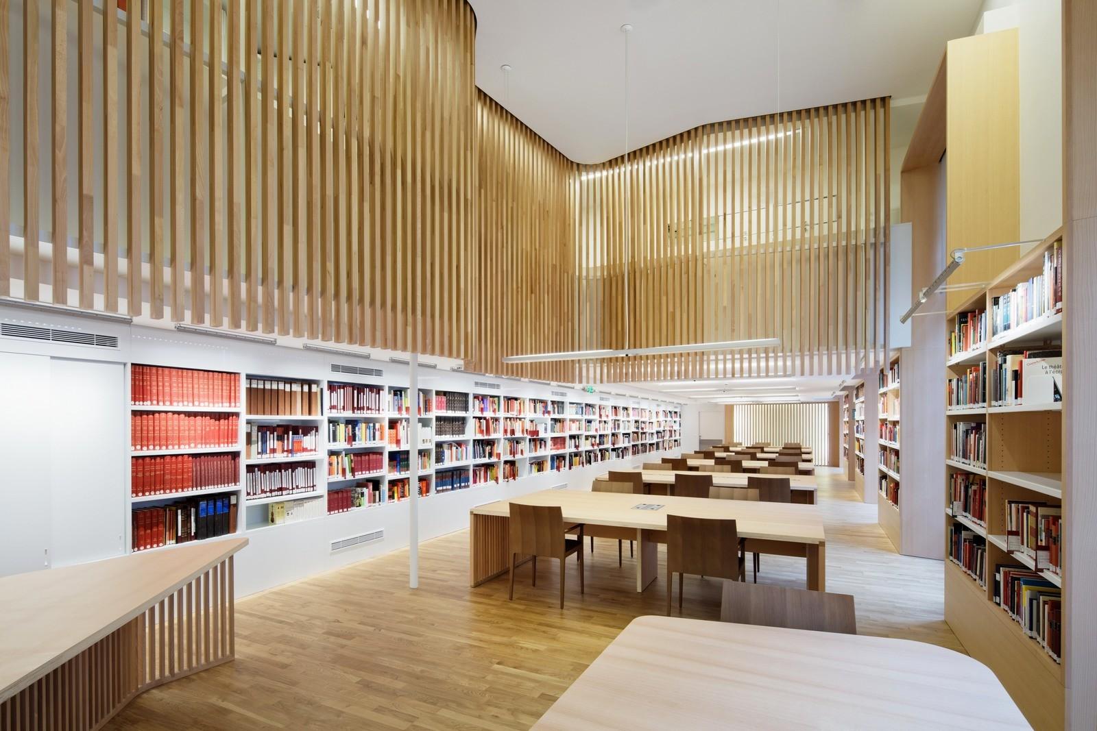 В национальной библиотеке Франции
