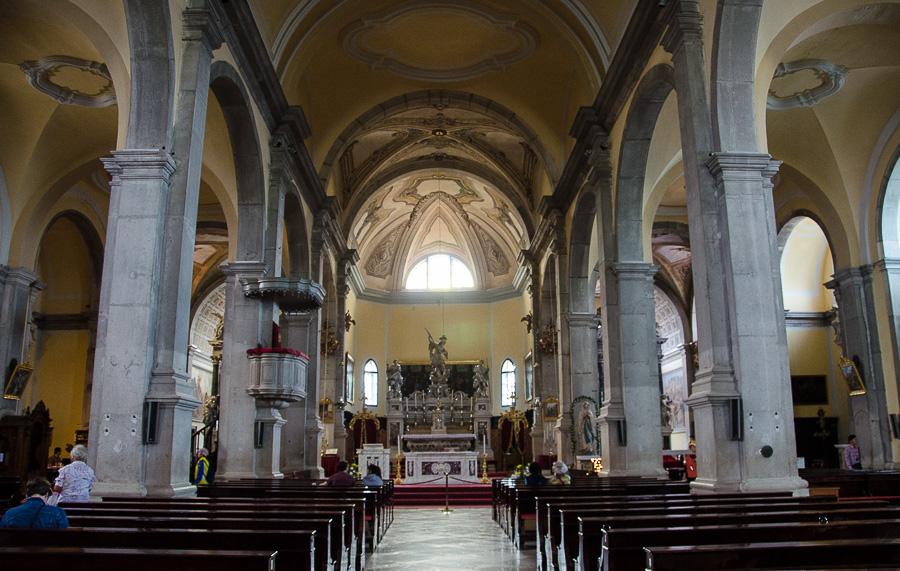 В соборе Святой Евфимии