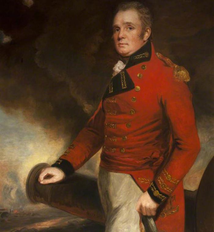 Колониальный губернатор Томас Мейтленд