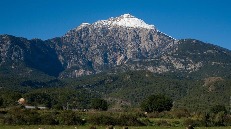 Вид на гору Тахталы
