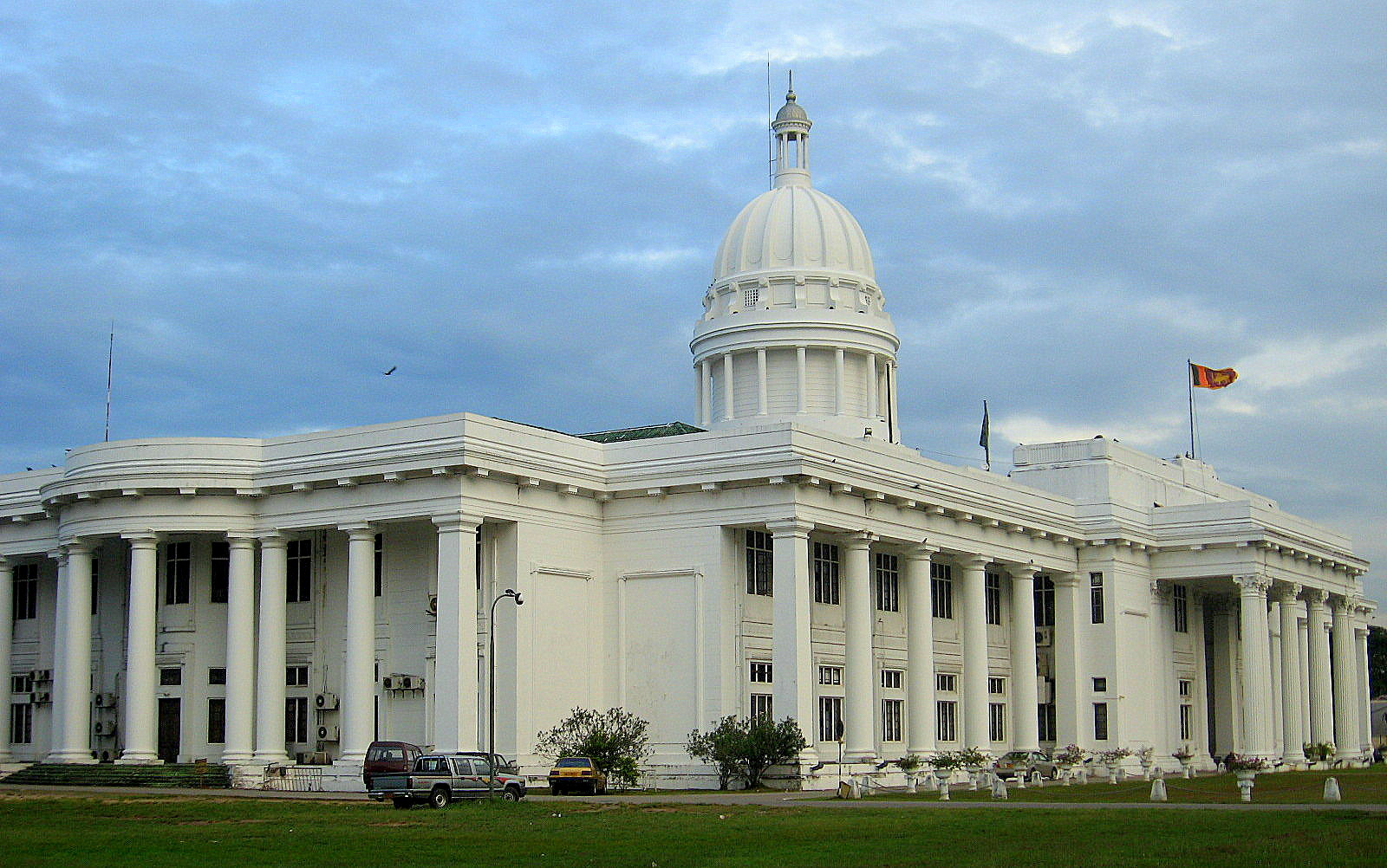 Городской муниципальный совет Коломбо - это штаб-квартира городских властей