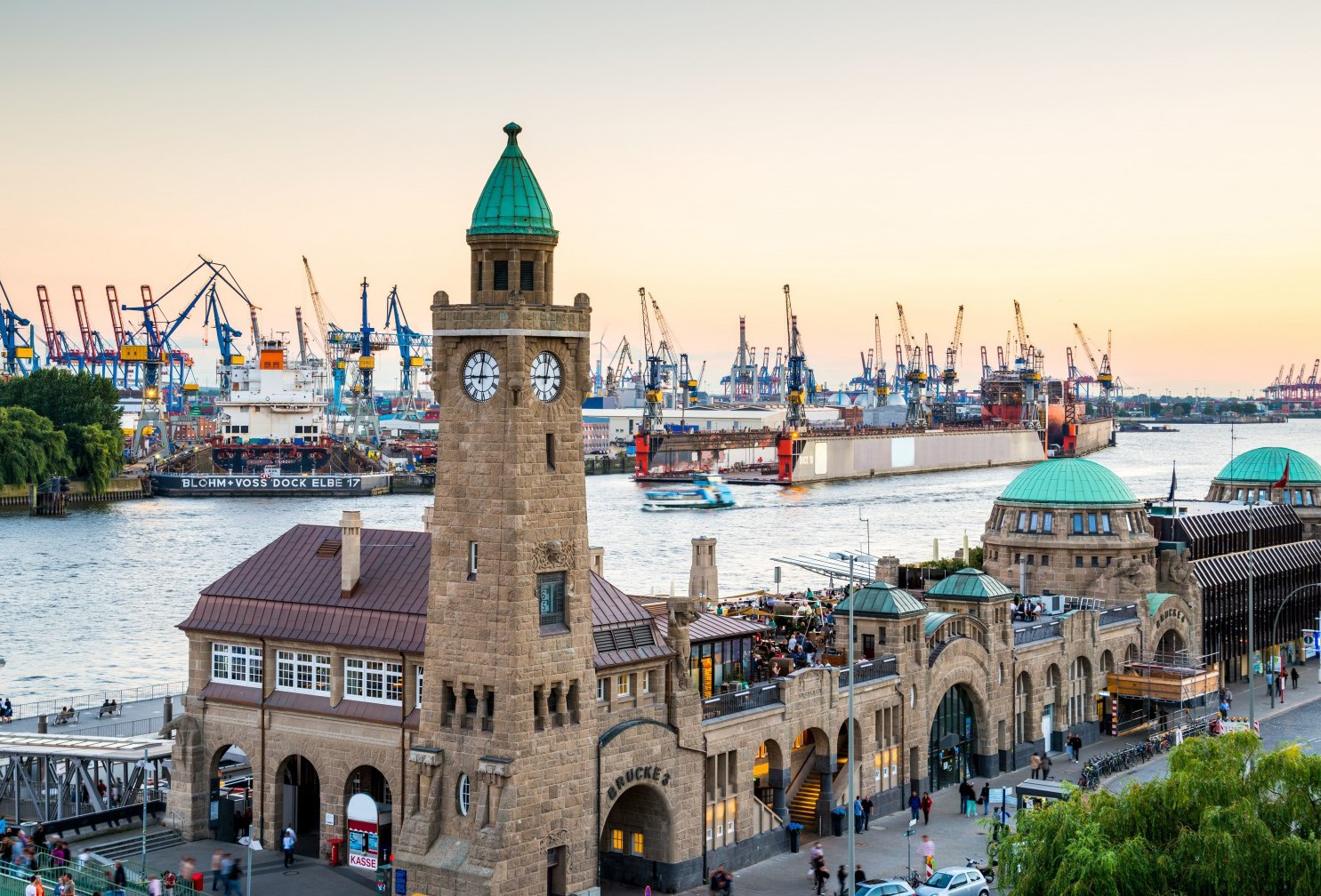 Город Гамбург