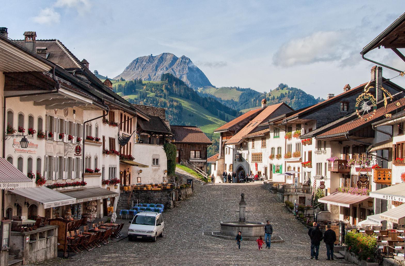 Грюйер, Швейцария