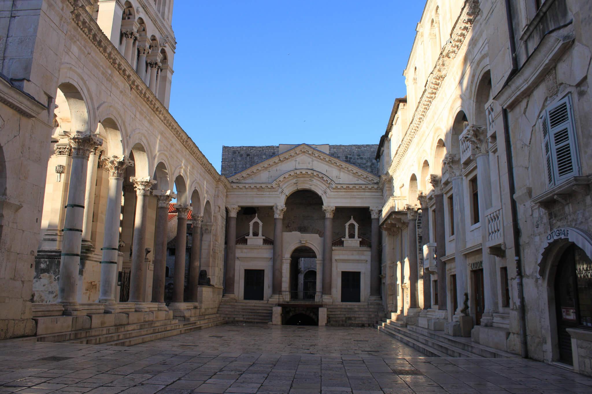 Дворец Диоклетиана, Сплит