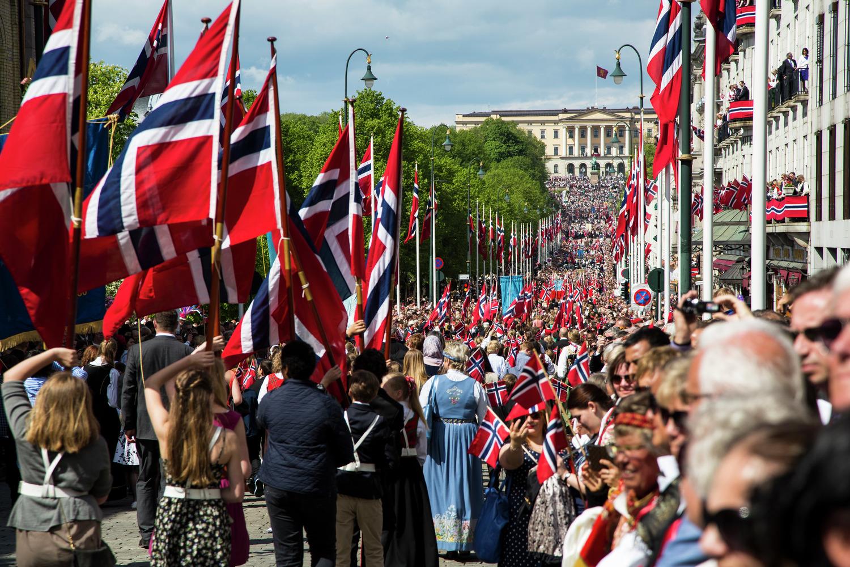 День Конституции Норвегии в Осло