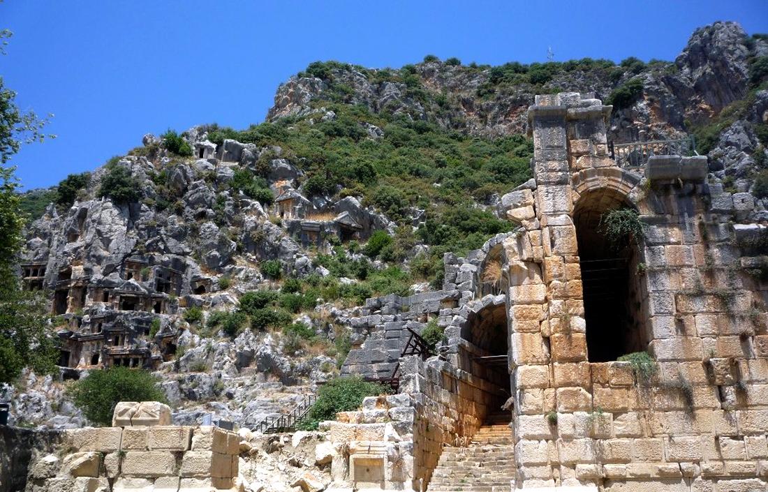 Древний город Демре Мира