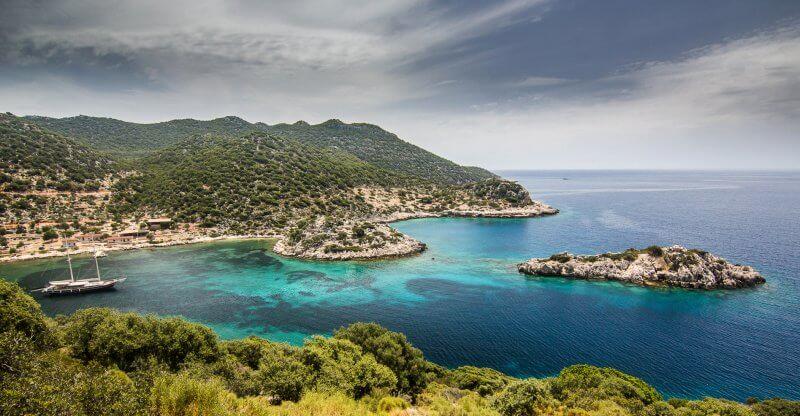Морской пейзаж на Ликийской тропе