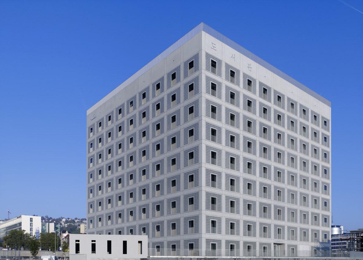 Здание городской библиотеки Штутгарта