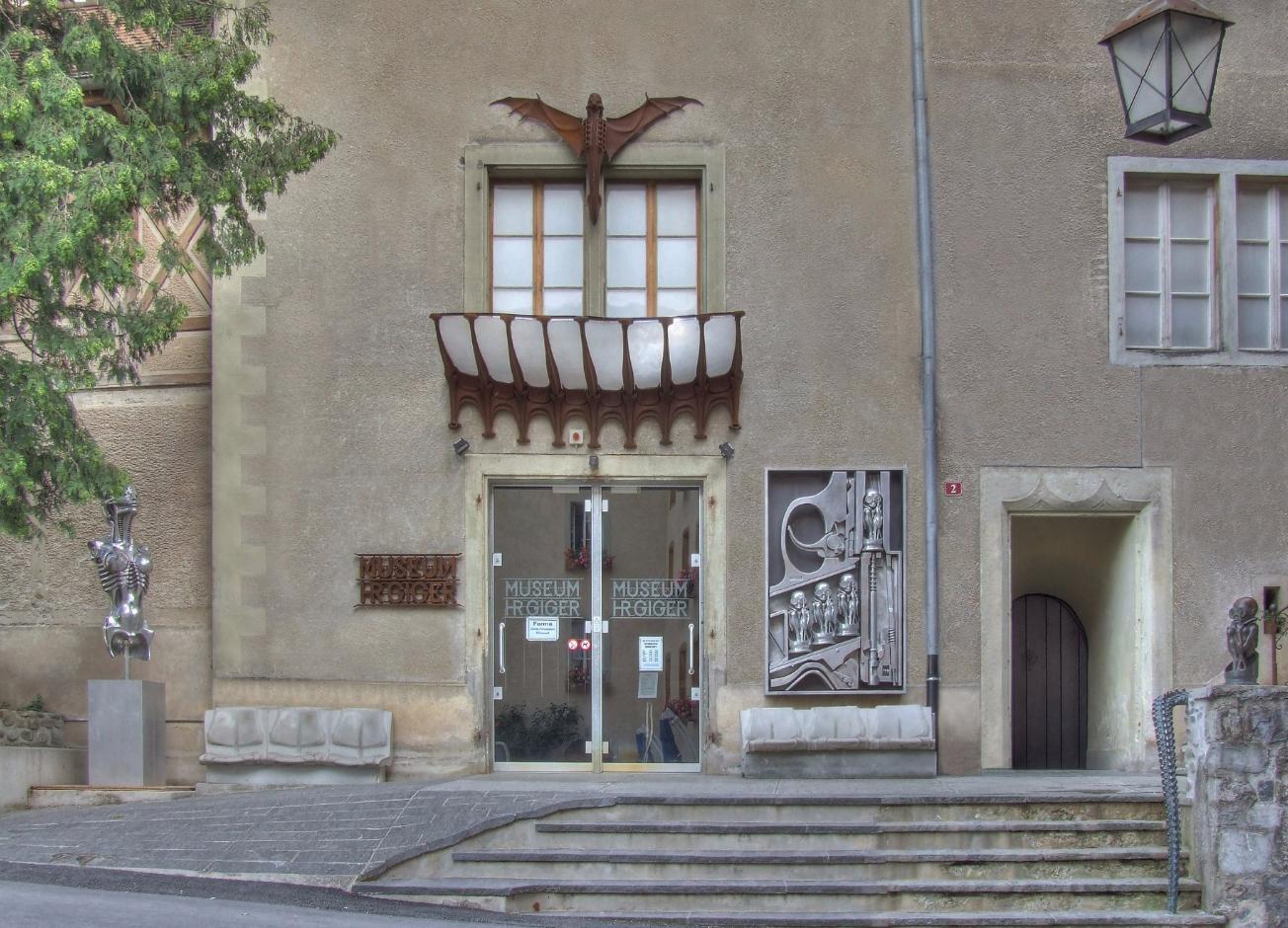 Здание музея Гигера