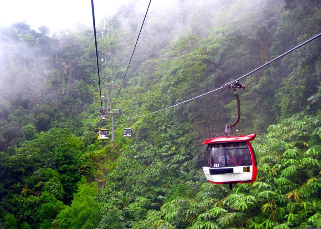 Канатная дорога Гентинг, Малайзия