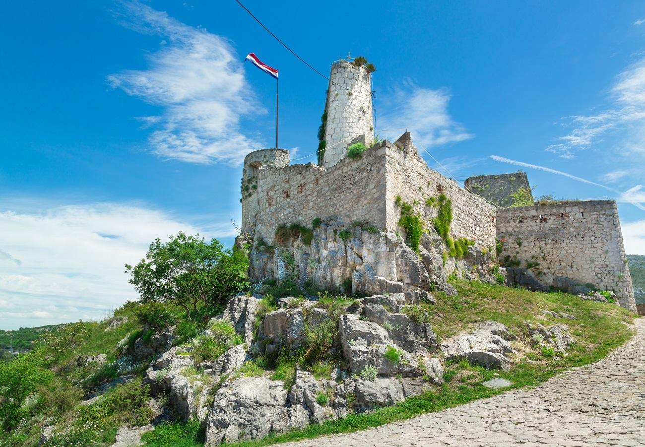 Крепость Клис в Хорватии