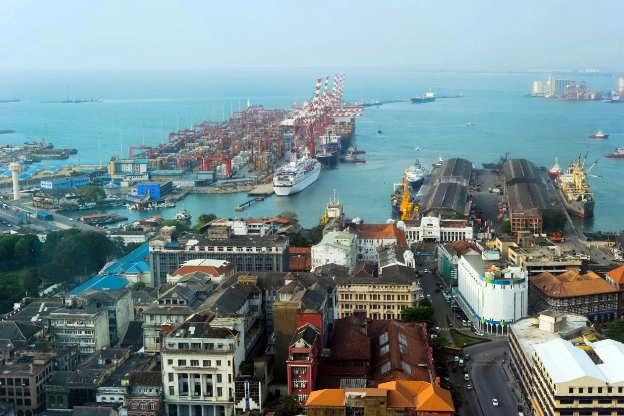 Круизный порт Коломбо