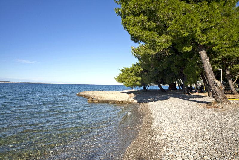 Мелкогалечный пляж Кулина