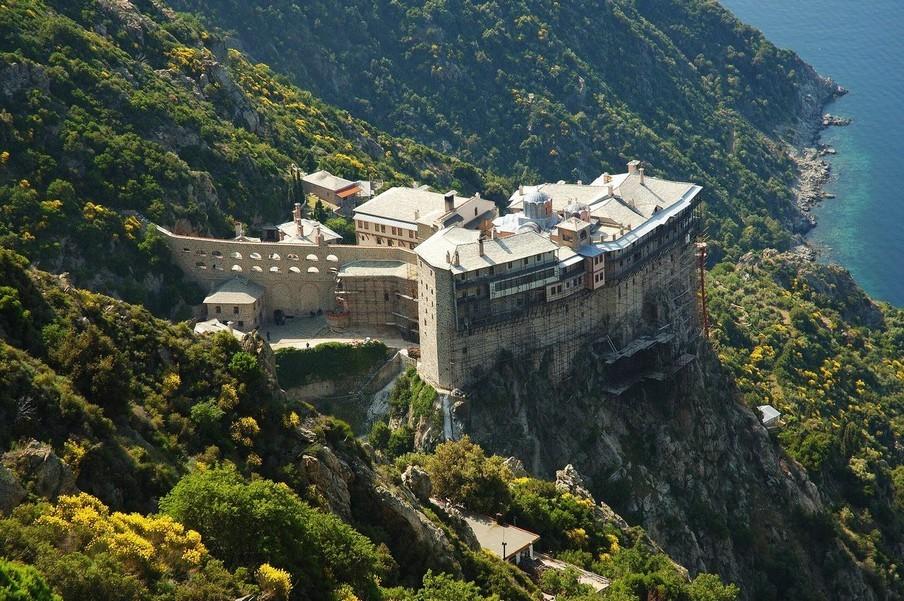 Монастыри Афона в Греции