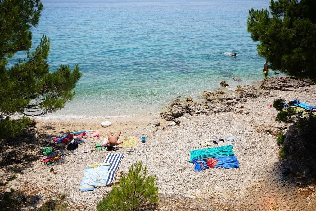Пляж Осиека в Башка-Вода