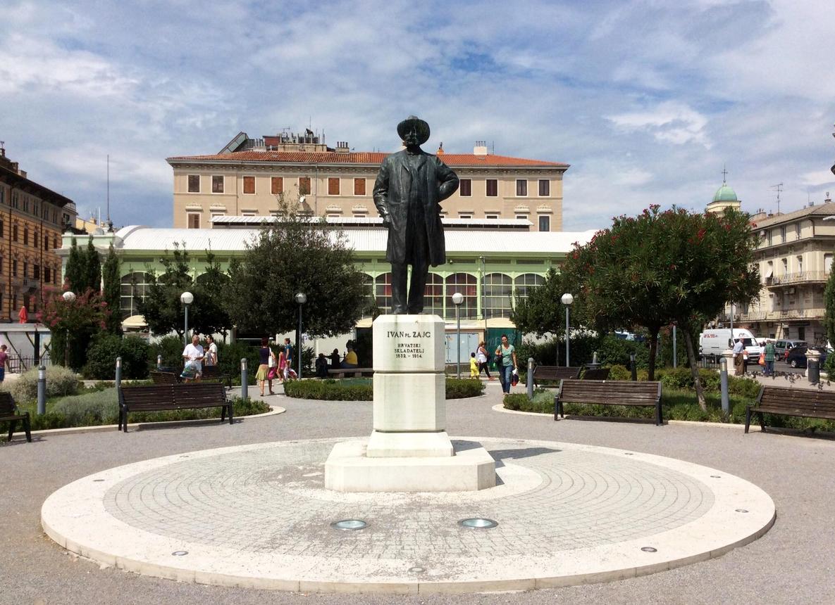 Памятник Ивану Зайцу