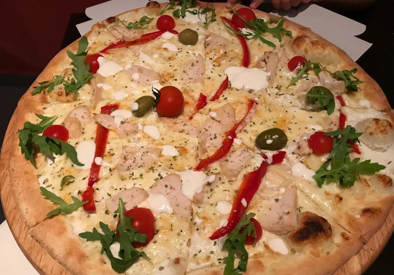 Так выглядит пицца в Crazy Pizza