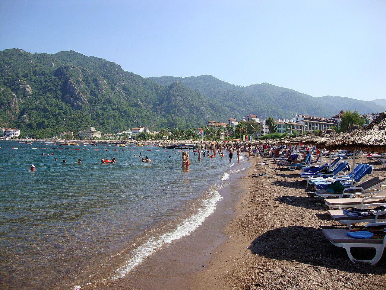 Пляж Ичмелер, Турция