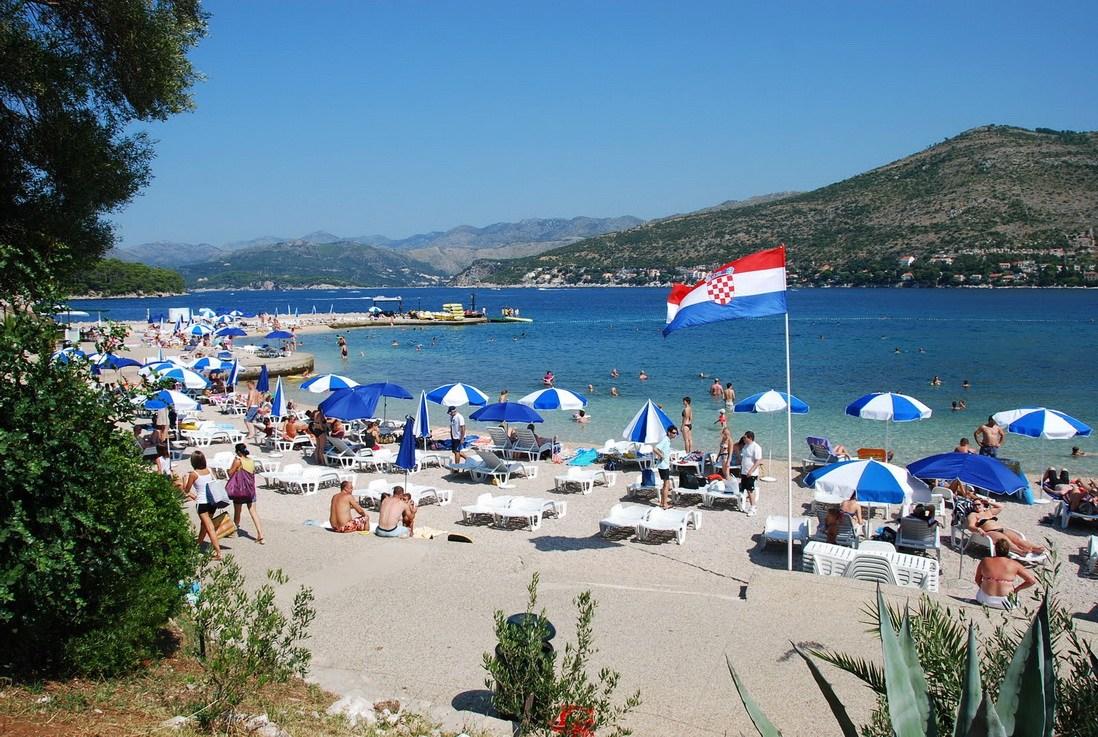 Пляж Копакабана, Дубровник
