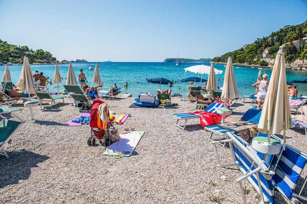 Пляж Лапад