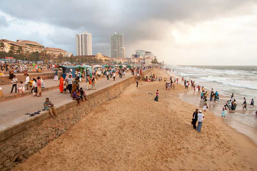Пляж в Коломбо