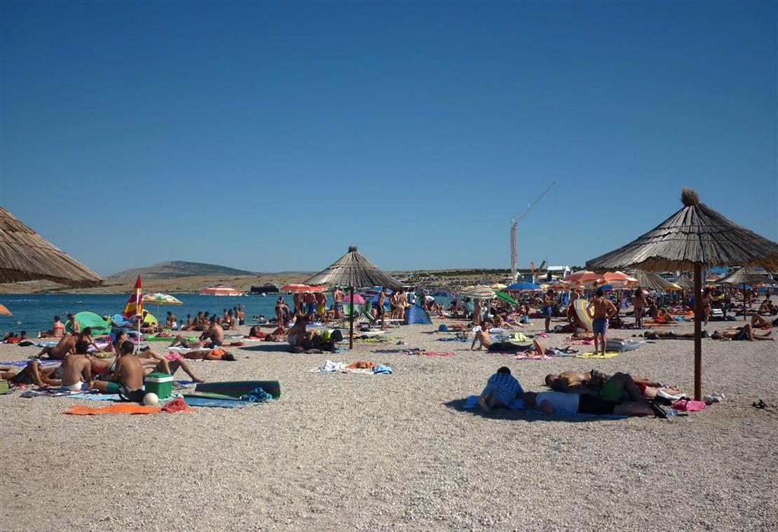 Пляж Zrce Beach